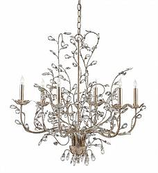 CRYSTAL BUD CHANDELIER, MEDIUM