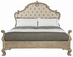 Campania Upholstered Panel Bed
