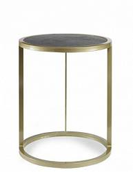 Halo Accent Table W/ Croc Insert